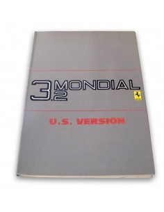 1986 FERRARI 3.2 MONDIAL OWNER'S MANUAL U.S. VERSION 397/85