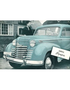 1946 OPEL OLYMPIA BROCHURE DUTCH
