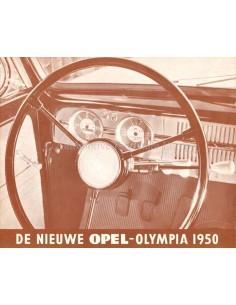 1950 OPEL OLYMPIA BROCHURE NEDERLANDS