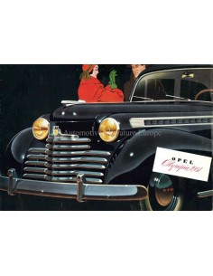 1951 OPEL OLYMPIA BROCHURE DUITS