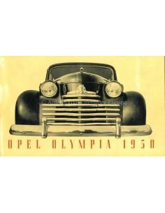1950 OPEL OLYMPIA PROSPEKT FRANZÖSISCH