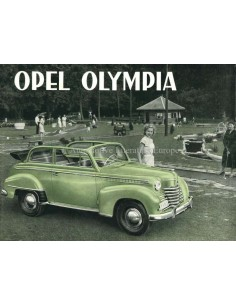 1951 OPEL OLYMPIA BROCHURE DUTCH