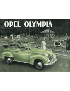 1951 OPEL OLYMPIA BROCHURE NEDERLANDS