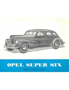 1939 OPEL KAPITÄN BROCHURE DUTCH