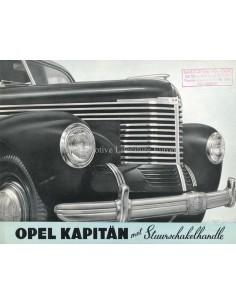 1939 OPEL KAPITÄN BROCHURE NEDERLANDS