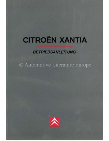 1999 CITROËN XANTIA OWNERS MANUAL GERMAN