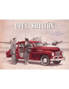 1953 OPEL KAPITÄN BROCHURE DUTCH