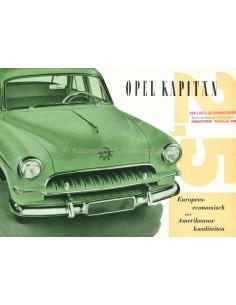 1953 OPEL KAPITÄN PROSPEKT NIEDERLÄNDISCH