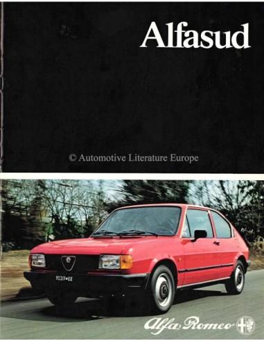 1982 ALFA ROMEO ALFASUD BROCHURE NEDERLANDS