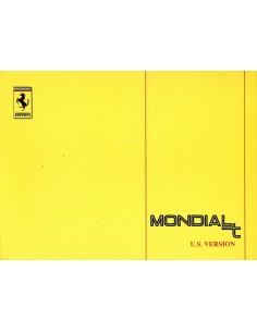1990 FERRARI MONDIAL T INSTRUCTIEBOEKJE USA 629/90