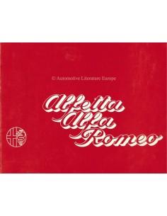 1974 ALFA ROMEO ALFETTA PROSPEKT NIEDERLÄNDISCH