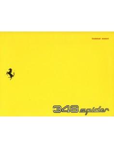 1994 FERRARI 348 SPIDER INSTRUCTIEBOEKJE USA 775/93