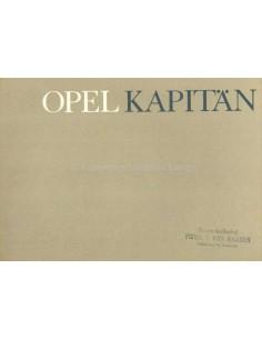1964 OPEL KAPITÄN PROSPEKT NIEDERLÄNDISCH