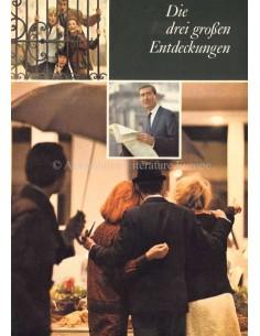 1964 OPEL KAPITÄN / ADMIRAL A / DIPLOMAT A BROCHURE GERMAN