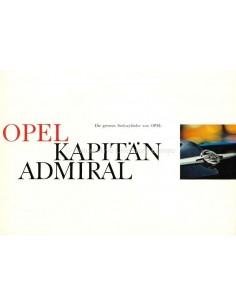 1967 OPEL KAPITÄN / ADMIRAL A PROSPEKT DEUTSCH