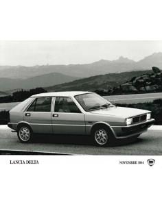 1984 LANCIA DELTA PRESS PHOTO
