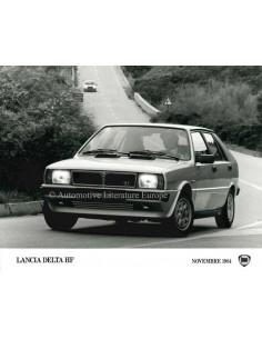 1984 LANCIA DELTA GT PRESS PHOTO