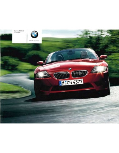 2005 BMW Z4 M ROADSTER BROCHURE GERMAN