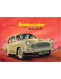 1964 HINDSTAN AMBASSADOR MARK II BROCHURE ENGLISH