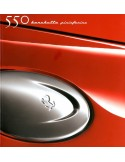 2000 FERRARI 550 BARCHETTA PININFARINA BROCHURE 1616/00
