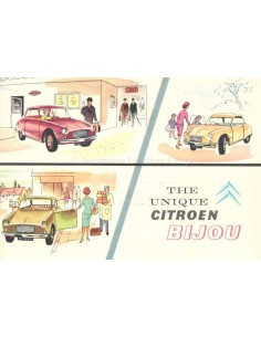 1959 CITROEN BIJOU BROCHURE ENGLISH