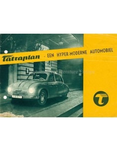 1951 TATRA TATRAPLAN PROSPEKT NIEDERLÄNDISCH