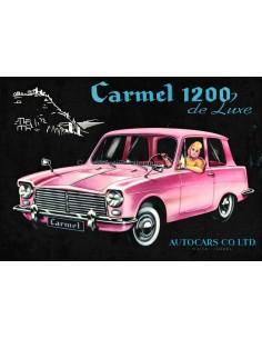 1963 AUTOCARS CARMEL 1200 DELUXE PROSPEKT ENGLISCH