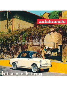 1961 AUTOBIANCHI BIANCHINA 110 DB / SPECIAL BROCHURE GERMAN