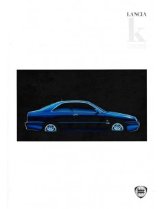 1997 LANCIA KAPPA COUPE BROCHURE NEDERLANDS