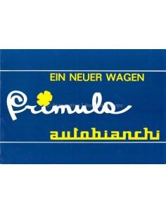 1964 AUTOBIANCHI PRIMULA BROCHURE DUITS