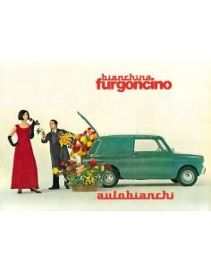 1965 AUTOBIANCHI BIANCHINA FURGONCINO BROCHURE ITALIAANS