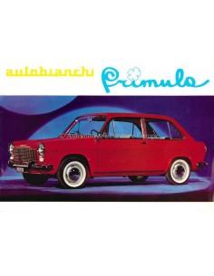 1965 AUTOBIANCHI PRIMULA BROCHURE DUTCH