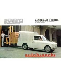 1966 AUTOBIANCHI BIANCHINA FURGONCINO BROCHURE DUTCH