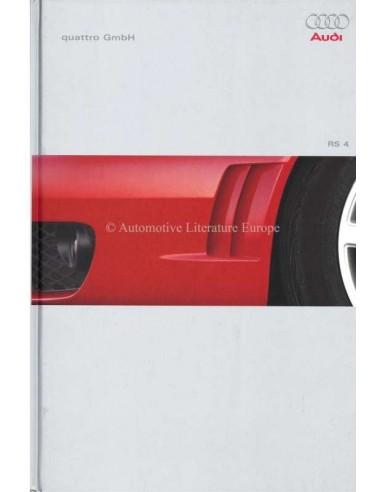 2000 AUDI RS4 HARDBACK BROCHURE GERMAN
