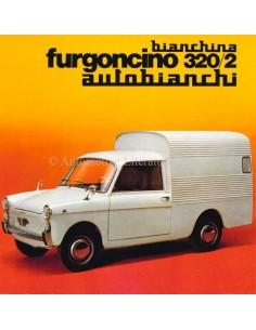 1967 AUTOBIANCHI BIANCHINA FURGONCINO 320/2 BROCHURE ITALIAN