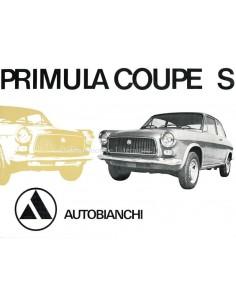 1969 AUTOBIANCHI PRIMULA COUPÉ S BROCHURE DUTCH