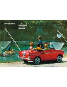 1969 AUTOBIANCHI PROGRAMMA BROCHURE NEDERLANDS