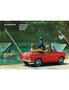 1969 AUTOBIANCHI RANGE BROCHURE DUTCH