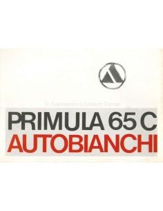 1970 AUTOBIANCHI PRIMULA 65 C BROCHURE DUTCH