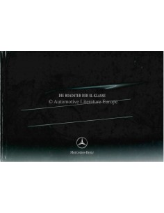 2003 MERCEDES BENZ SL HARDBACK BROCHURE GERMAN