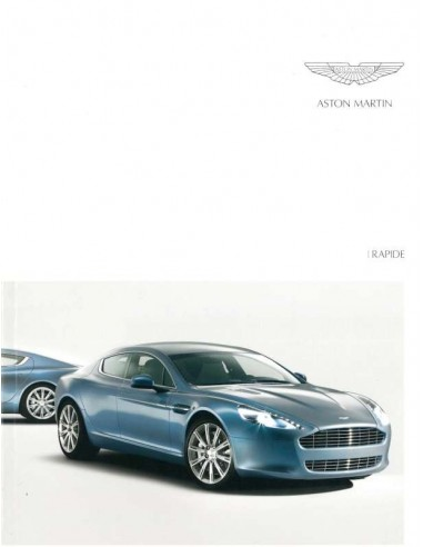 2010 ASTON MARTIN RAPIDE BROCHURE ENGLISH
