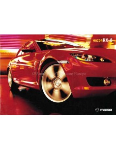 2004 MAZDA RX-8 BROCHURE ENGLISH