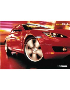 2005 MAZDA RX-8 BROCHURE ENGLISH