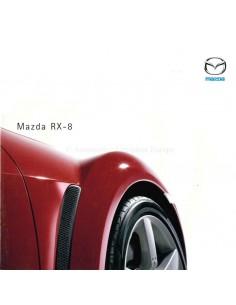 2003 MAZDA RX-8 PROSPEKT DEUTSCH