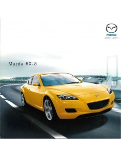 2003 MAZDA RX-8 BROCHURE GERMAN
