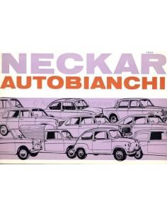 1967 NECKAR AUTOBIANCHI PROGRAMM PROSPEKT NIEDERLÄNDISCH