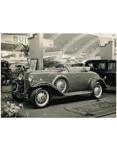 1931 CHEVROLET SIX PRESS PHOTO