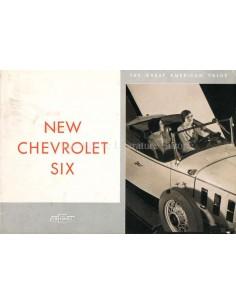 1932 CHEVROLET SIX RANGE BROCHURE ENGLISH (US)