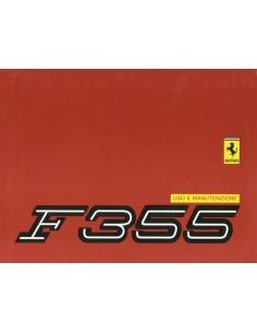 1996 FERRARI F355 BETRIEBSANLEITUNG 1055A/96