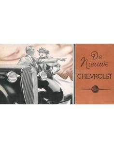 1936 CHEVROLET PROGRAMMA BROCHURE NEDERLANDS
